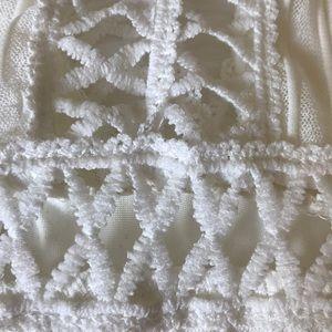 Tops - 70s crochet body suit